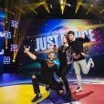 Brahim Zaibat, Natoo et Mehdi Kerkouche - Le jury de la finale française de la Just Dance World Cup. Le mercredi 29 novembre à 15h50 sur NRJ12.