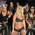 Britney Spears lors de son come-back raté en 2007... On s'en souvient encore...