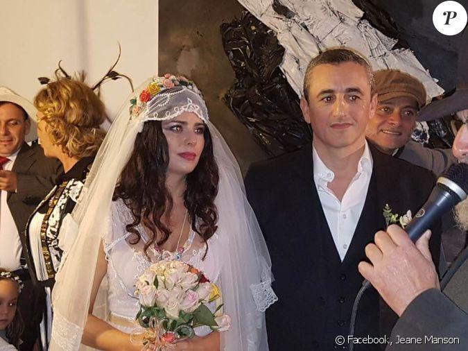 jeane manson a partag cette photo du mariage de sa fille shirel et de son mari arnaud le 23. Black Bedroom Furniture Sets. Home Design Ideas