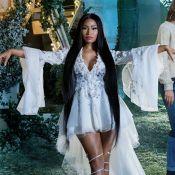 Nicki Minaj : Une fée ravissante pour Noël, avec le beau Jesse Williams