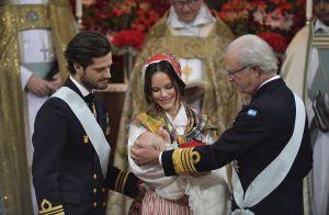 Baptême de Gabriel de Suède, 3 mois : Le petit prince brusqué, Sofia superbe