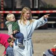 Naomi Watts et son fils Alexander