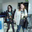 """""""Frances Bean Cobain et Isaiah Silva arrivent à LAX, le 23 janvier 2015"""""""