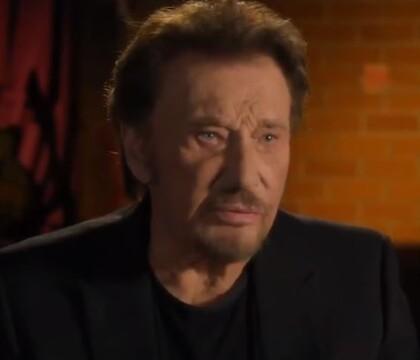 "Johnny Hallyday, confidences face caméra : ""La maladie c'est dans la tête"""