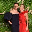 Stella McCartney et Anabelle Wallisaux Fashion Awards 2017 au Royal Albert Hall à Londres, le 4 décembre 2017