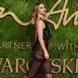 Suki Waterhouseaux Fashion Awards 2017 au Royal Albert Hall à Londres, le 4 décembre 2017