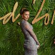 Victoria Swarovskiaux Fashion Awards 2017 au Royal Albert Hall à Londres, le 4 décembre 2017