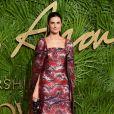 Livia Giuggioli (épouse de Colin Firth) aux Fashion Awards 2017 au Royal Albert Hall à Londres, le 4 décembre 2017