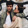 Caroline Receveur et son chéri Hugo Philip s'affichent sur Instagram.