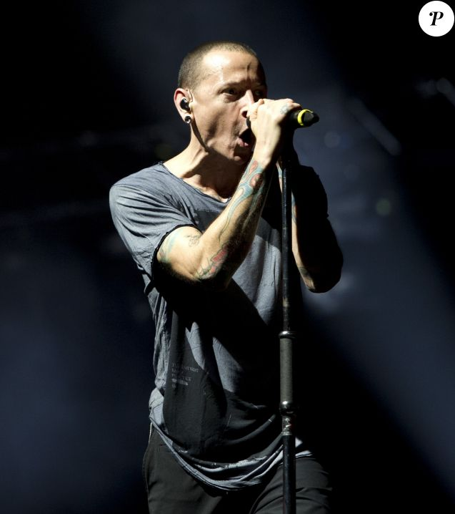Linkin Park à Amsterdam, le 7 novembre 2014.