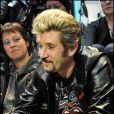 """les sosies - Johnny Hallyday au Virgin Megastore Champs Elysees pour le lancement de la vente de son nouvel album, """"Jamais Seul"""" 27/03/2011 - Paris"""