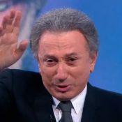 Mort de Johnny Hallyday : Michel Drucker, bouleversé, fond en larmes en direct