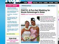 Nicole Scherzinger... elle était de mariage !