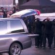 Le cercueil de Johnny Hallyday - Obsèques de Johnny Hallyday en l'église de la Madeleine à Paris. Le 9 décembre 2017.