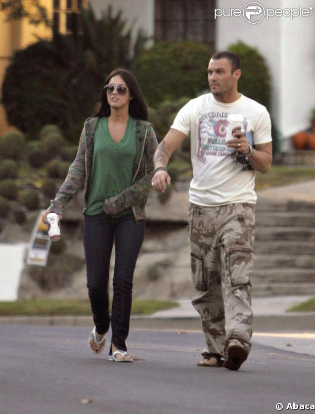 megan fox brian austin green. Megan Fox et Brian Austin