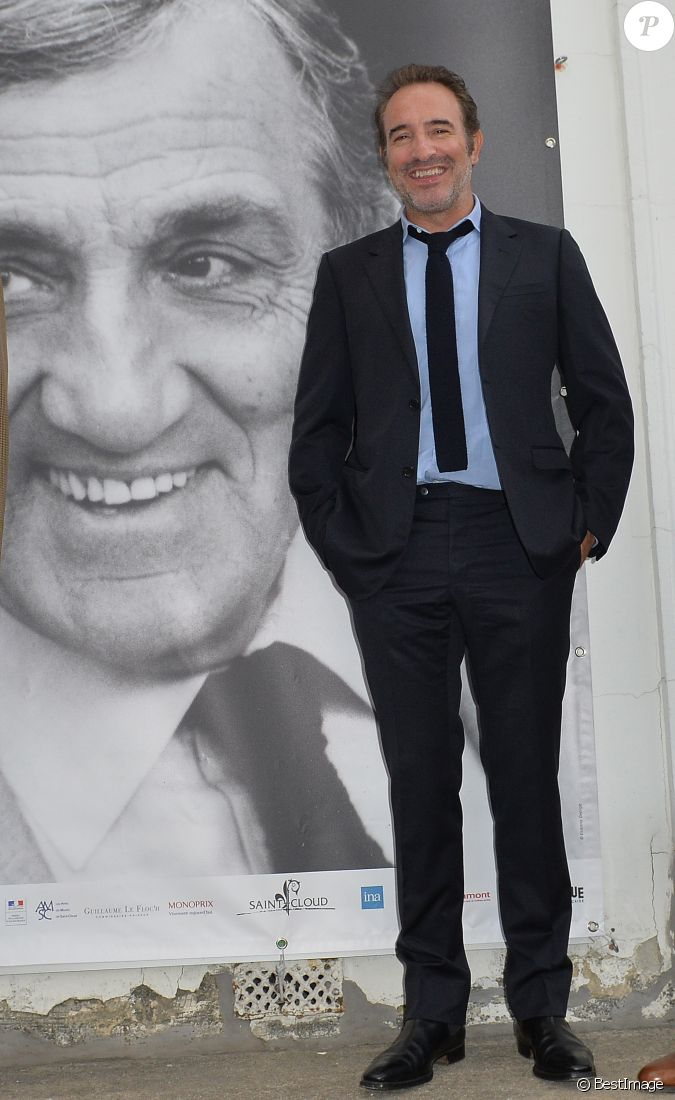 Jean dujardin parrain de l 39 exposition lors du vernissage for Dujardin saint cloud