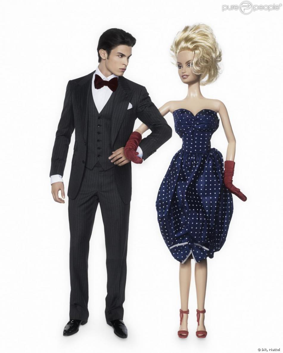 Barbie et ken baptiste on t 39 a reconnu purepeople - Image barbie et ken ...