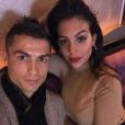 Cristiano Ronaldo et sa compagne Georgina Rodriguez, photo Instagram du 22 novembre 2017