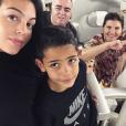 Georgina Rodriguez, compagne de Cristiano Ronaldo, avec Cristiano Jr. et la mère de CR7, photo Instagram du 13 décembre 2017