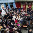 Maëva Coucke, Miss France 2018 de retour sur ses terres d'enfance, va à la rencontre des habitants de Boulogne-sur-Mer, France, le 20 décembre 2017. Un événement inoubliable. © Alain Rolland/ImageBuzz/Bestimage