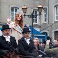 Maëva Coucke, sublime Miss France 2018 de retour sur ses terres d'enfance, va à la rencontre des habitants de Boulogne-sur-Mer, France, le 20 décembre 2017. © Alain Rolland/ImageBuzz/Bestimage