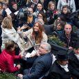 Maëva Coucke, Miss France 2018 de retour sur ses terres d'enfance, va à la rencontre des habitants de Boulogne-sur-Mer, France, le 20 décembre 2017. © Alain Rolland/ImageBuzz/Bestimage