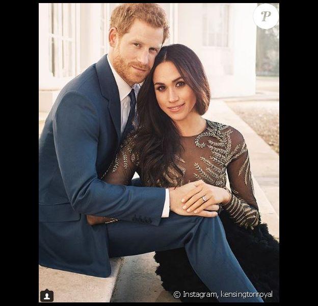 Meghan Markle et prince Harry publient trois photos officielles pour marquer leurs fiançailles, Instagram, le 21 décembre 2017.