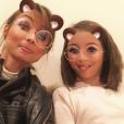 Jennifer Lauret et sa fille Shaana née de son union avec Patrick Sorrentino.