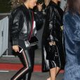 Rihanna quitte le concert de Jay-Z à Inglewood en Californie, le 21 décembre 2017.