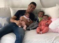 Cristiano Ronaldo: Coincé avec ses 3 bébés, stars de la photo de famille de Noël