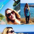 Loana à la plage- Instagram, août 2017