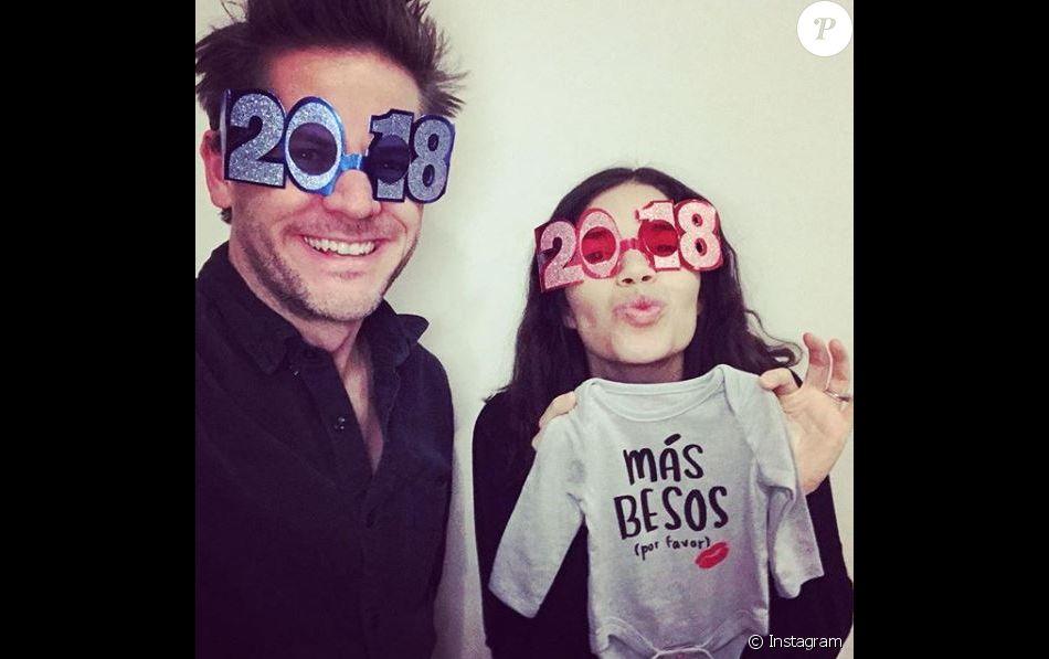 America Ferrera et son mari attendent un bébé. Instagram, 31 décembre 2017