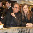 Roberto Cavalli et sa très belle femme Eva lors de l'inauguration de la boutique Cavalli à Paris samedi soir.