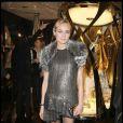Diane Kruger délicieuse à l'inauguration de la boutique Cavalli samedi soir à Paris