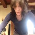 Carla Bruni-Sarkozy fait des pompes sur Instagram, le 1er janvier 2018.