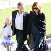 Nicolas Sarkozy et Giulia : Câlin tendre sous le regard fier de Carla Bruni