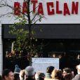 """""""Illustration lors de la commémoration du second anniversaire des attentats du 13 novembre 2015 au Bataclan à Paris le 13 novembre 2017. © Stéphane Lemouton / Bestimage"""""""