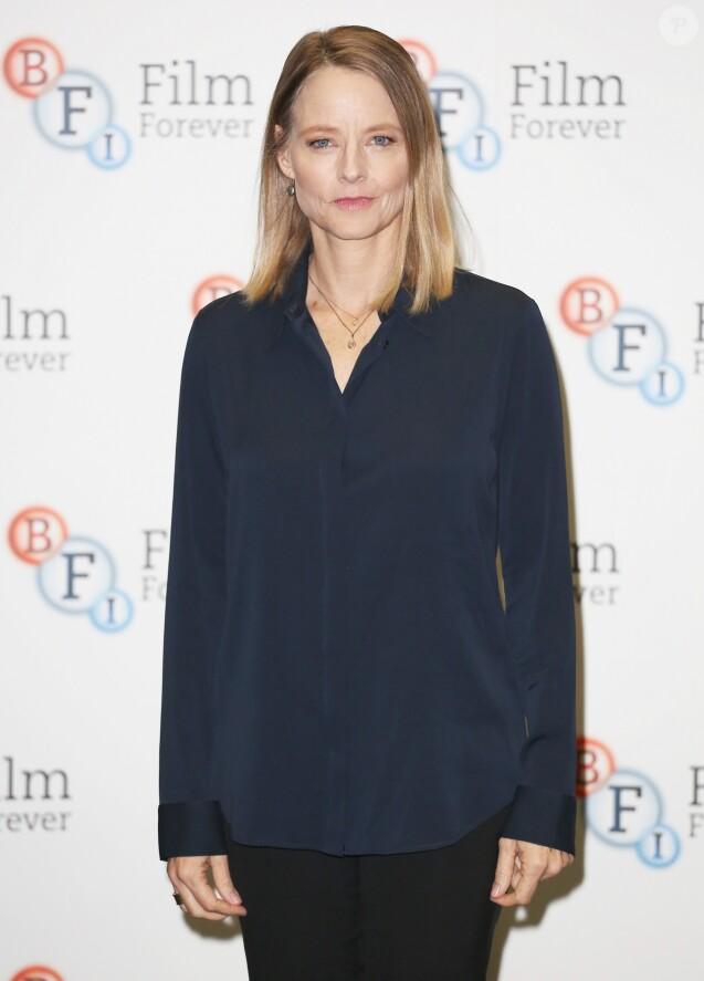 """Jodie Foster à la projection du film """"Le silence des agneaux"""" au BFI Southbank à Londres le 3 novembre 2017"""