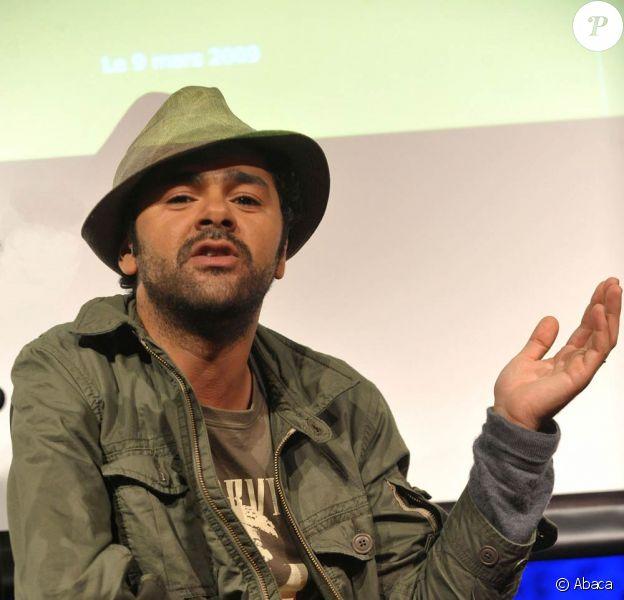 Jamel Debbouze, parrain de l'Agefiph, présente au Jamel Comedy Club la nouvelle campagne de l'association