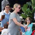 Zara (Phillips) à Bondi Beach à Sydney en Australie le 27 décembre 2017. Le 5 janvier 2018, un porte-parole a annoncé la grossesse de la fille de la princesse Anne, enceinte de son second enfant après avoir été victime en 2016 d'une fausse couche.