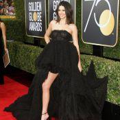 Kendall Jenner : Sourires ravis et jeu de jambes sexy, son premier Golden Globes