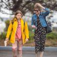 Michelle Williams et sa fille Matilda à Brooklyn à New York le 13 mai 2016