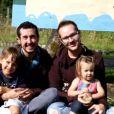 """Tristan Reese, l'homme enceinte, raconte son incroyable histoire dans """"Sept à Huit"""" (TF1) le 7 janvier 2018."""