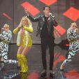 """""""Britney Spears et G-Eazy aux MTV Video Music Awards 2016. New York, août 2016."""""""