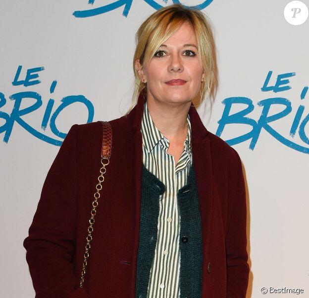 """Flavie Flament - Avant-première du film """"Le Brio"""" au cinéma Gaumont Opéra à Paris, le 21 novembre 2017. © Coadic Guirec/Bestimage"""