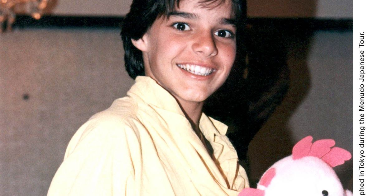 Ricky Martin à Tokyo en 1985 - Purepeople