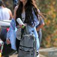 Exclusif - Megan Fox et son mari Brian Austin Green sont allés déjeuner avec leurs enfants Noah, Journey et Bodhi au restaurant Nobu à Malibu, le 22 mai 2017.