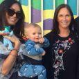 Megan Fox pose avec son fils Journey, 1 ans, et sa maman  Gloria Darlene sur Instagram le 11 janvier 2018.