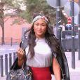 """Flore, sublime brunette de 27 ans dans """"Les Reines du shopping"""" (M6) la semaine du 15 janvier 2018."""