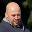 """Didier de la saison 8 de """"L'amour est dans le pré"""" annonce à François que lui et sa compagne Stéphanie attendent un enfant. Emission """"L'amour est dans le pré, les 10 ans"""", sur M6, le 4 janvier 2016."""
